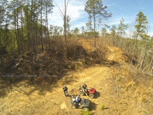 ATV Trail riding in Hayden, AL