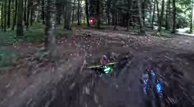 Jedi Speed Racer Drone Race