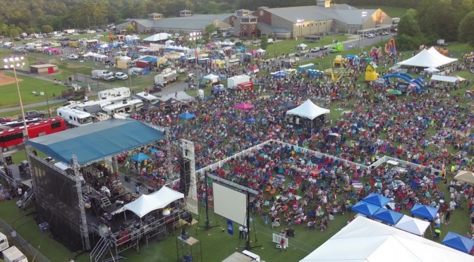 Incredible Aerial Drone Video of Alabaster Cityfest