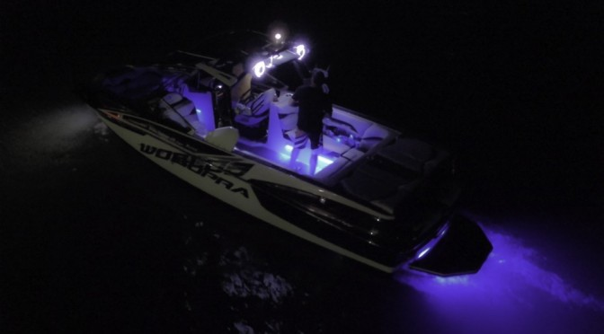 Check out this Supra boat at night from a drone! Beautiful!