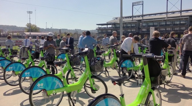 Birmingham's Zyp BikeShare Opening Day – Video