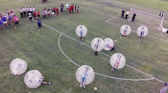 Bubble Ball comes to Alabaster Park