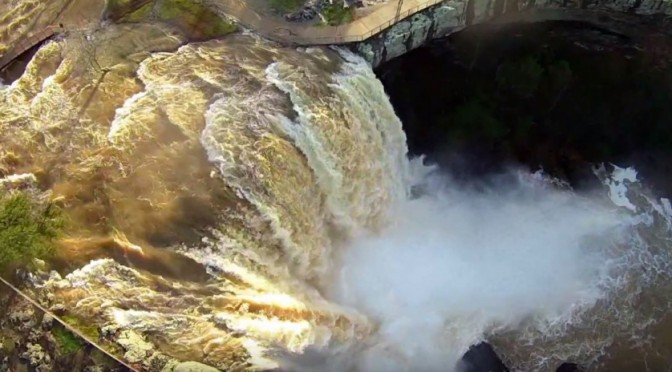 Incredible! Noccalula Falls after the Rain – Drone Video
