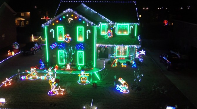 A Drone Before Christmas – Alabama's Christmas Lights Video 2015