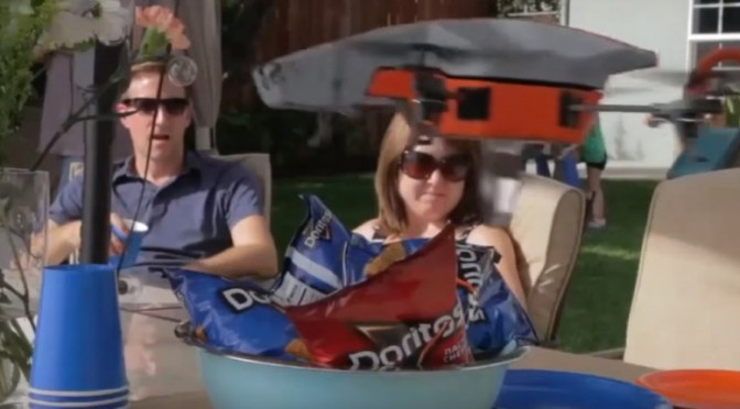 Drone Attack and Steal Doritos – Superbowl Commercial