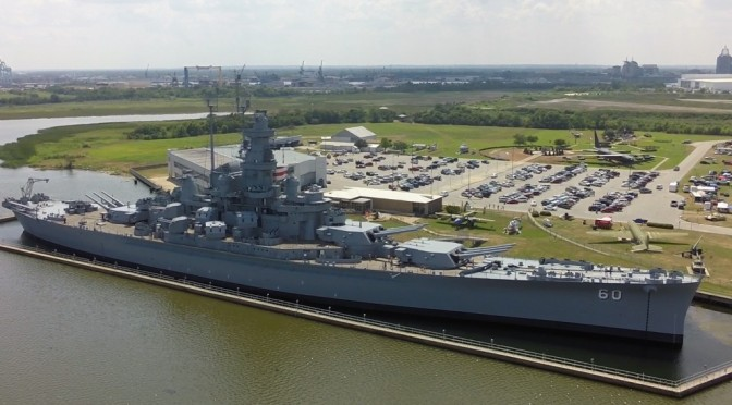 USS Alabama Battleship – Video