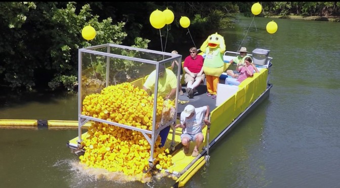 Buck Creek Festival Duck Race – Video