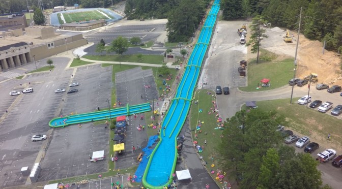 Florence Are You Ready? 1,000ft Slip'N Slide Is Coming Saturday!