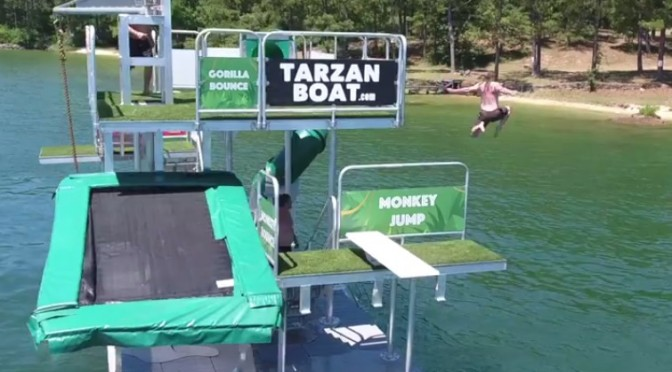 Have you seen the Tarzan boat at Lake Martin?