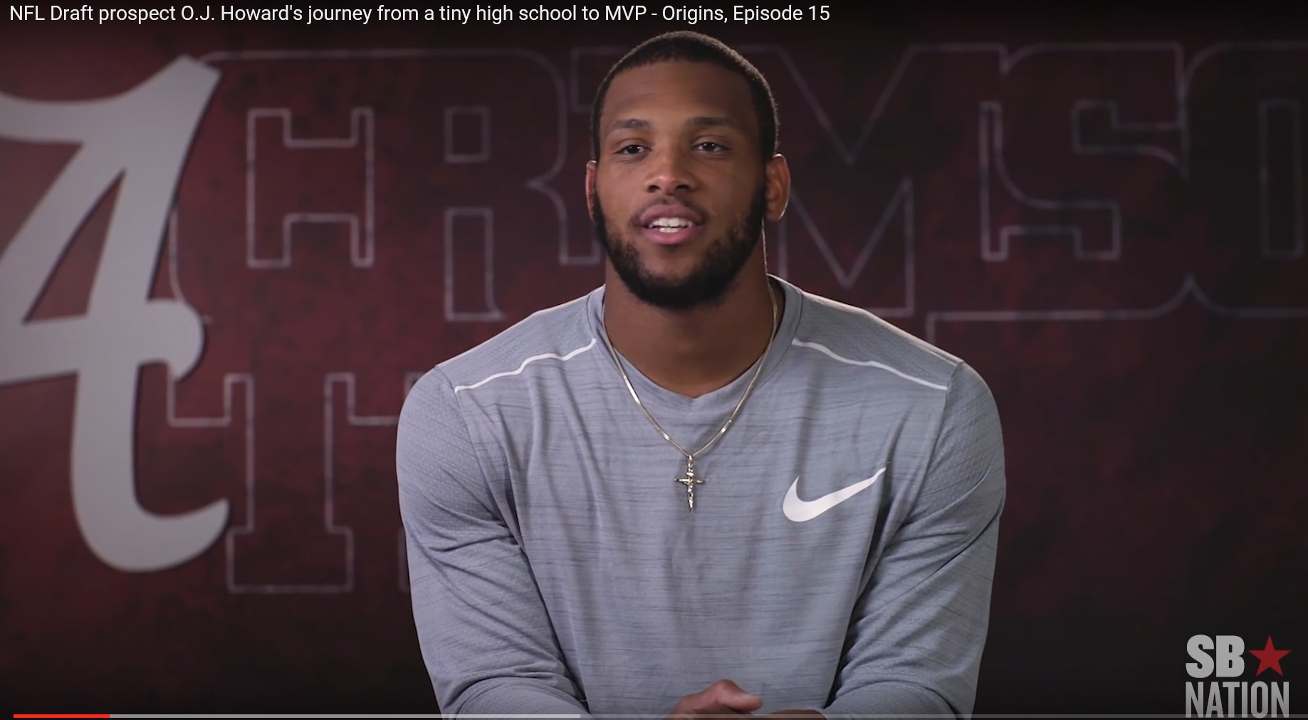 Crimson Tide's O.J. Howard's Journey