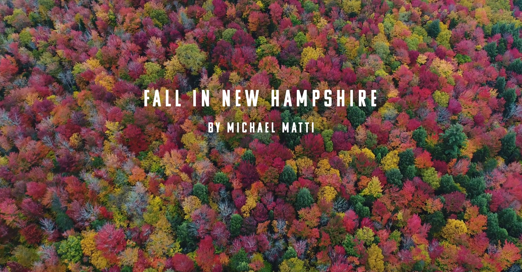 Gorgeous Fall has arrived in New Hampshire